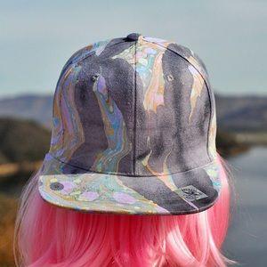 The Odessa OOAK Wearable Art Unisex Snapback Hat